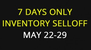 7 Days Inventory selloff