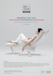 Natuzzi Revive Memorial Day 2015