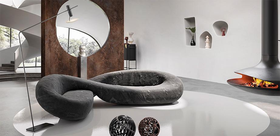 Infinito Sofa by Marcantonio