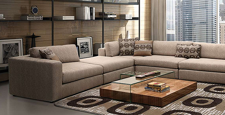 Modern Furniture Showroom Design home page