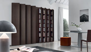 wall units and bookcases. Aleph Bookcase
