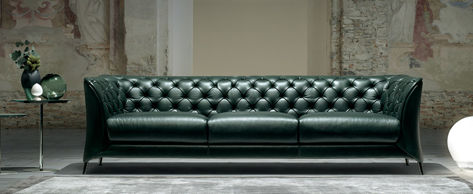 Natuzzi Italia La Scala Sofa Herman Sectional