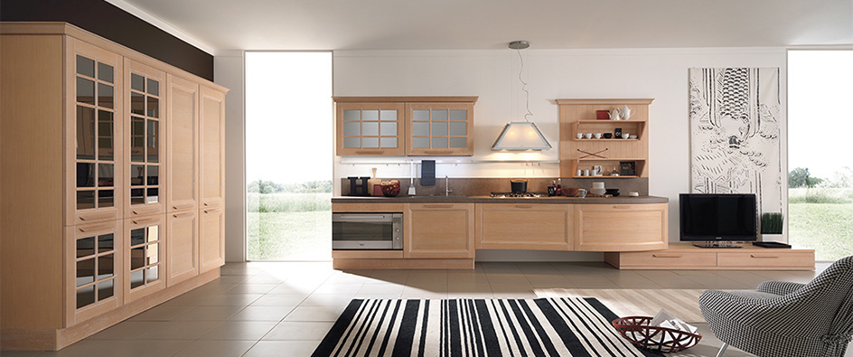 Ylenia Contemporary Kitchen Aran Cucine