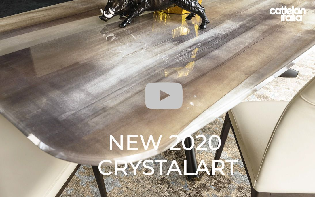 Cattelan 2020 New Crystalart finish