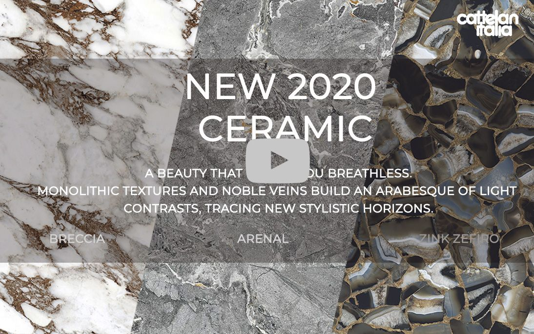 Cattelan 2020 New Ceramic finishes