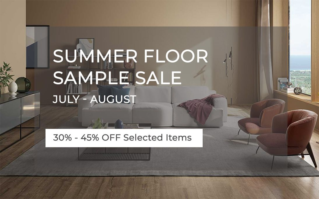 Summer Floor Sample Sale