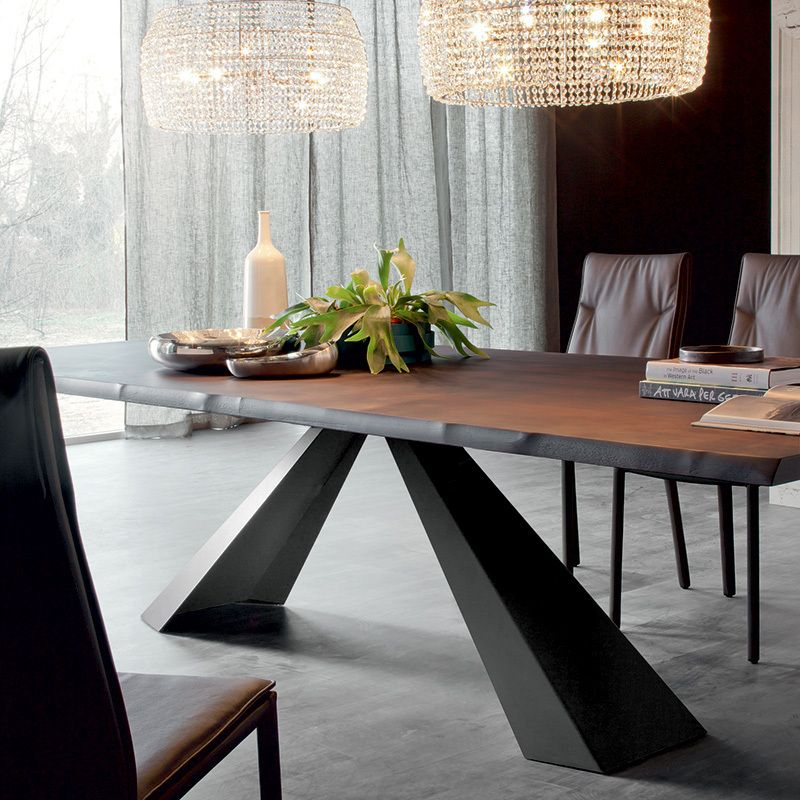 Modern Wood Dining Tables eliot wood dining table. dining tables. dining : cattelan italia