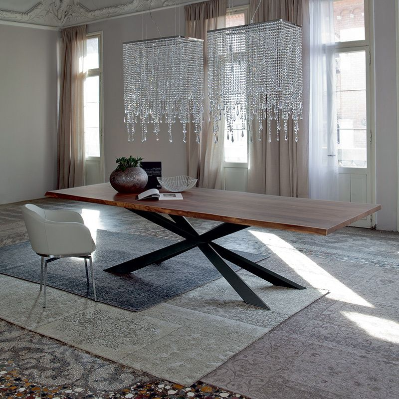 Spyder Wood Table Dining Tables Dining Cattelan Italia