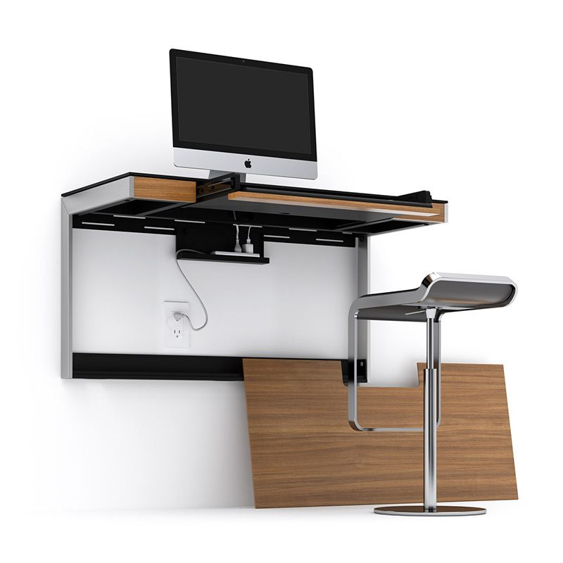 Home Office Desks BDI Sequel 6004 Wall Desk