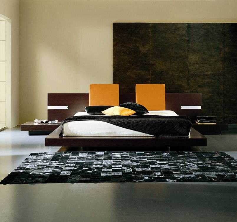 Win Floating Bed. Beds. Bedroom : Rossetto. Modern furniture.