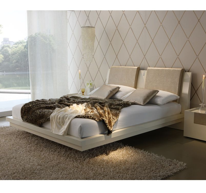 Diamond Bed Beds Bedroom Rossetto Modern Furniture