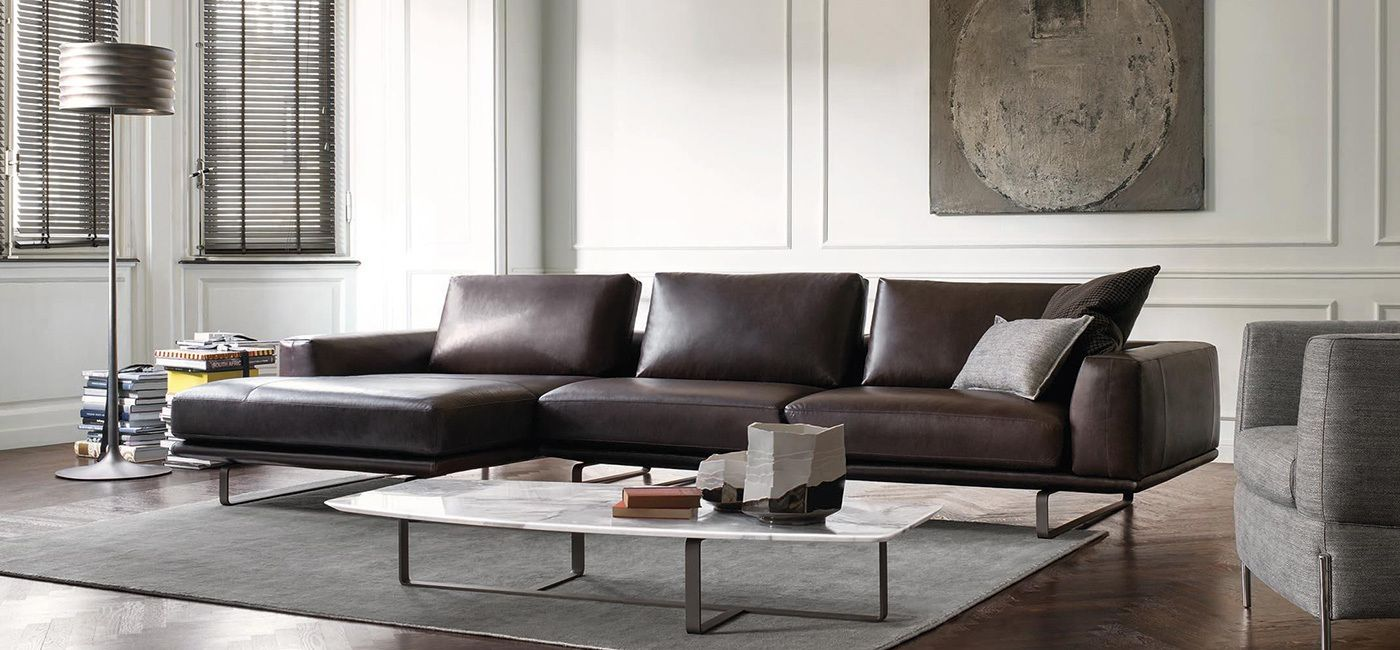 dimensions leather vanilla sectional natuzzi l off sectionals shaped italian