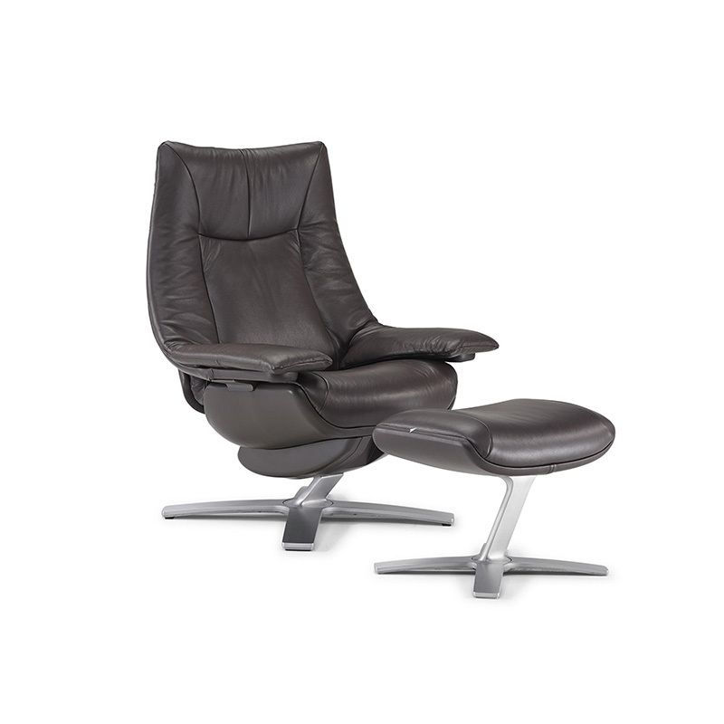 Modern sleeper chair - Casual Chair With Ottoman Lounge Chairs Amp Recliners