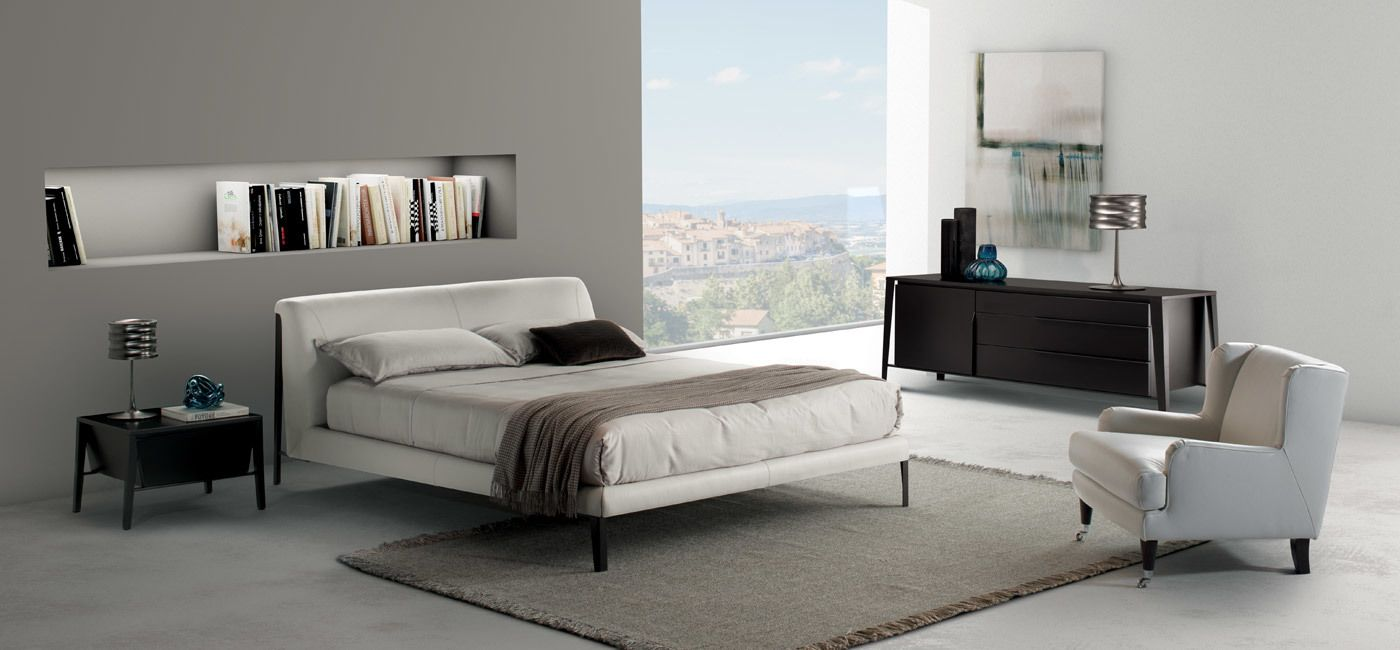 Diamante Bed Beds Bedroom Natuzzi Italia Modern