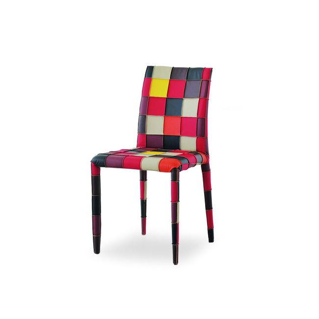 Dining Chairs Airnova Brit Patchwork Chair