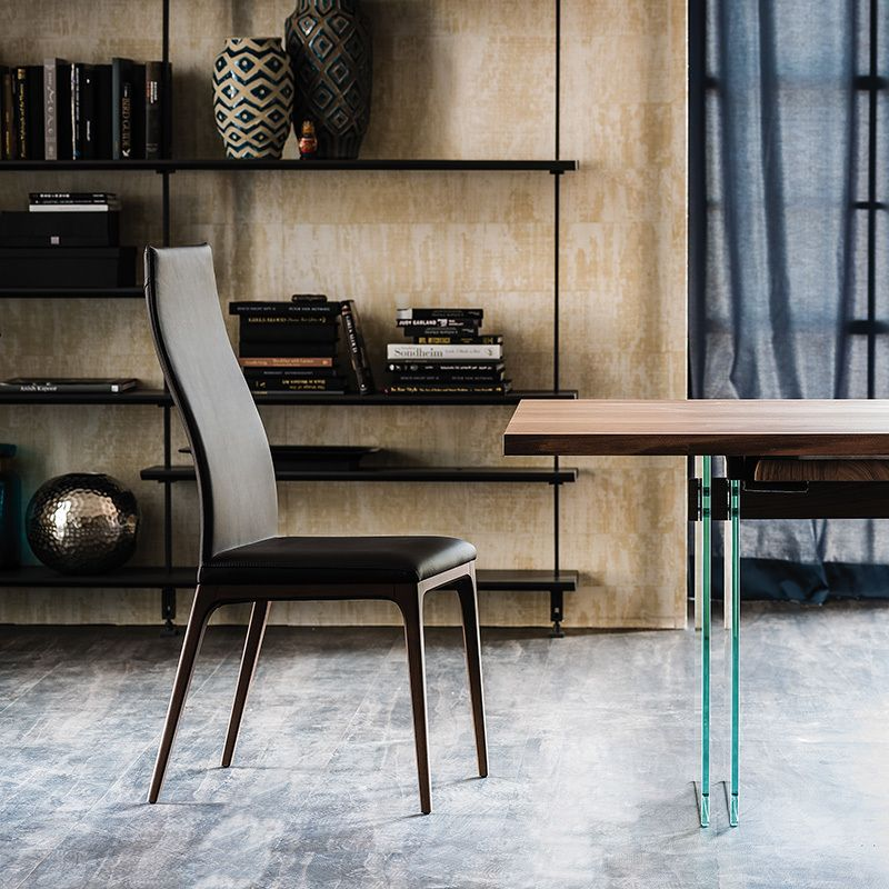 Arcadia High Back Chair Dining Chairs Dining Cattelan Italia