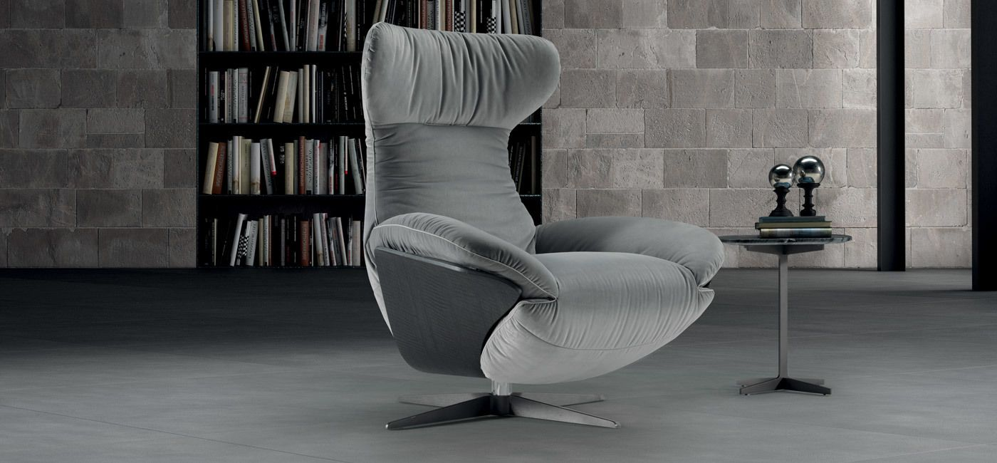 Ilia recliner chair lounge chairs recliners living for Poltrone design outlet online